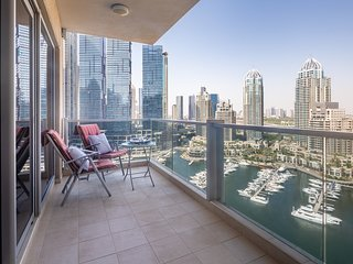 Gorgeous Spacious 3BR with FULL Marina Views