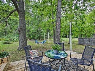 NEW! Charming Home w/ Deck, 2 Mi to Lake Michigan!