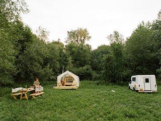 Tentrr Signature Site - Private Peaceful Farm Venture