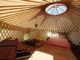 Yurt at La Taillede; Peace & nature in the mountains