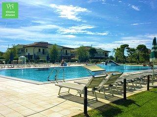 Casetta con giardino privato e piscina per vacanze al mare