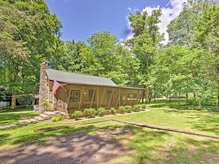 NEW! 2-Acre Historic Black Mountain Cabin w/ View!
