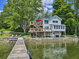NEW! Family-Friendly Cayuga Lake Retreat w/ Dock!