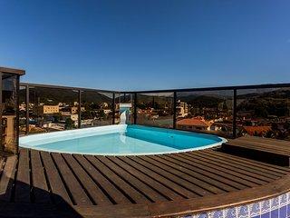 Cobertura duplex, piscina e área gourmet