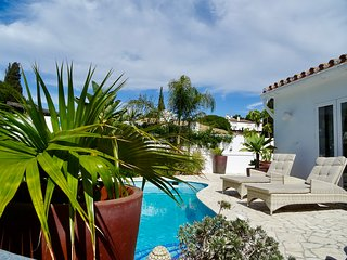 VILLA OASIS SEA VIEW 3 BED PRIVATE HEATED POOL - LA CALA DE MIJAS