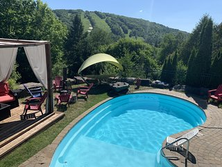 Chalet with Private Pool in the Summer, View of Avila Slopes, 5 mins to Saint Sa