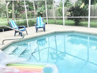 New Listing! The Banana Tree Casa - Home with Salt water pool near Jensen Beach