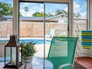 Fantastic Florida Home w/POOL, Sunroom, ALL NEW interior, 1.5 mi. to Beach, 3 mi