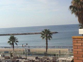 vista al mar desde la terraza