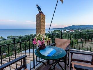 Eros cozy, perfect location, panoramic sea view