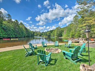 NEW! 'Alderbrook Chalet' in Bolton w/ Lake Access!