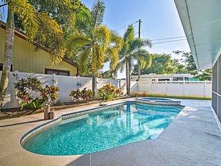 NEW! Sunny Seminole Home w/Pool, 4 Miles to Beach!