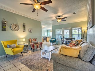 NEW! Family-Friendly PCB Home < 1 Mile to Beach!