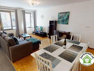 OBYHALLES  1 PARKING GRATUIT - 2 chambres+ salon