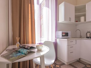 Cozy apartment with a separate bedroom in the city center