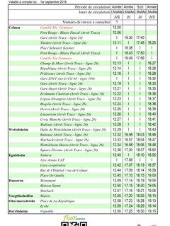 horaire bus