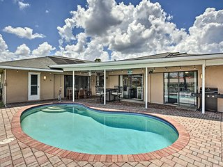 NEW! Canalfront Oasis w/BBQ, Patio, Kayaks & Dock!