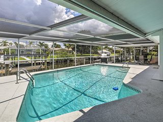 NEW! Canalfront Home w/Dock+Pool, 5 Mi to Ft Myers