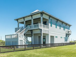 NEW LISTING! Stunning beachfront home w/ shared outdoor pool & easy beach access