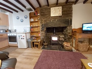 Cosy, pet friendly 1 Bedroom Cottage near Harlech/Porthmadog/Portmerion