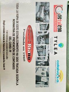 Certificación prevención Anti Covid ropa y menaje de camas