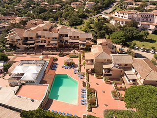 Apt. Cervo Marina 1B, with shared Swimming Pool