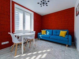 2-rooms refurbished loft in Nemiga