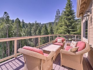 NEW! Lake Arrowhead Retreat w/ Decks + Mtn Views!