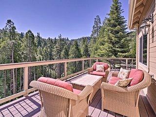 Lake Arrowhead Retreat w/ Decks + Mountain Views!