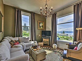 NEW! Classic Hillside Astoria Home w/ Gorge Views!