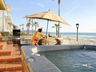 At the Beach Oceanfront Retreat w/ Jacuzzi & Bikes!