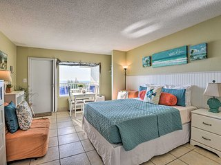 NEW! Waterfront Daytona Beach Studio w/Pool Access