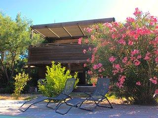 Villa de charme à Cala-Rossa avec piscine, jardin et WIFI.