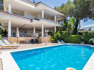 Luxury Villa La Mora Beach Tarragona Private Pool