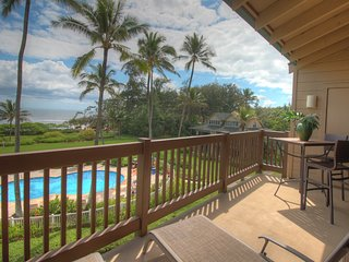 Oceanfront 1 BR Condo at Kaha Lani  (KL309)