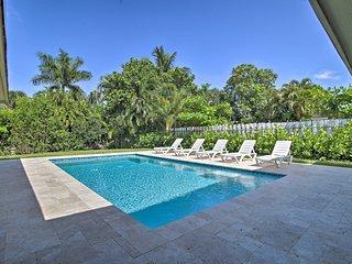 Sleepy River Gem w/Pool <4Mi to Lauderdale Beaches