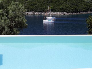 Villa Elif - Direct Sea Access & Live Scenery at Sivota Bay's Entrance