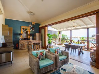 4 - pers. luxurious apartment in resort with shared pool