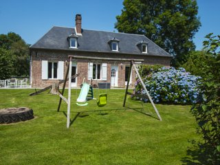 Gite avec parc animalier sur propriete. A proximite Honfleur Deauville Le Havre