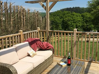 Unique Private Lodge in Cornwall sleeps 4 - dog friendly