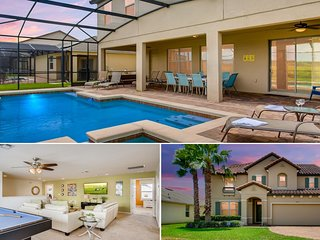 1299YC Beautiful 7 bed Pool Villa in West Haven