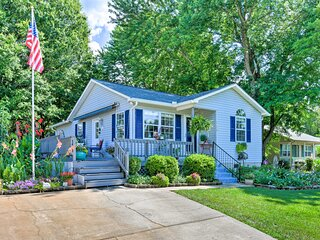 Lake Norman Home w/Porch, Across from Marina!
