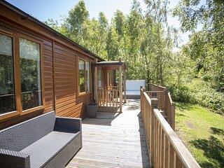 Puddleduck - gorgeous 2 bedroom lodge, luxury hot tub, pet-friendly