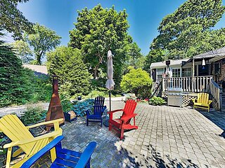Entertain w/ Patio & 2 Decks! 3BR Cape Cod Getaway - Near Main Street & Beach