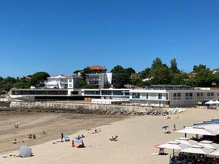 Royan plage de Foncillon, vue mer et plage
