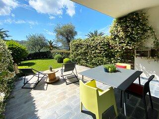 Pietraverdemare 6 Ampio Monolocale con rigoglioso giardino