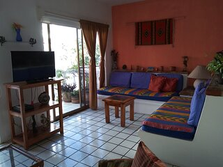 Mexican Style Apartment #6- Romantic Zone-