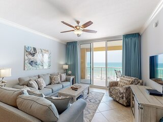 Gulf-front 4-bedroom condo, steps to dining and entertainment