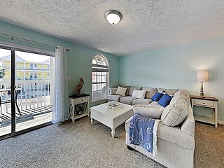 Second-Row Haven w/ 2 Units - 100 Yards to Beach, Near K Avenue Shops & Eats