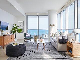 Domio   Miami Beach   Chic Corner Ocean View One Bedroom w/ Balcony